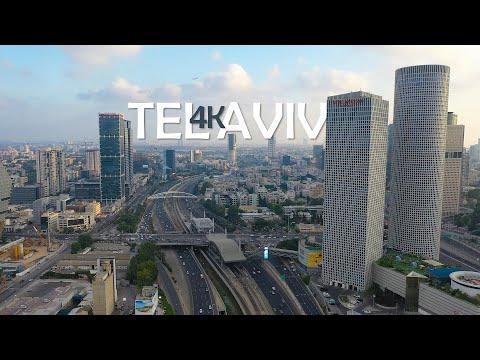 Tel Aviv By Drone - DJI Mavic 2 Pro