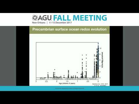 2017 Fall Meeting - V24C: Redox from the Surface to the Core over Earth History II