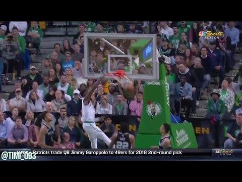 Jaylen Brown Highlights vs San Antonio Spurs (18 pts)