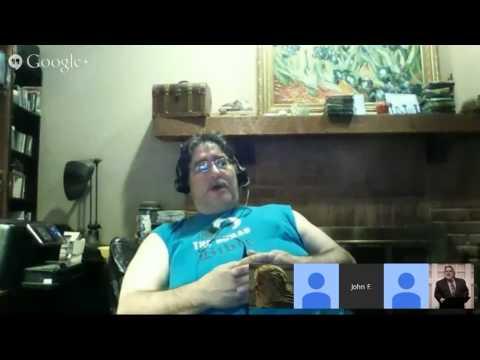 The Bible Geek Hangout 4 - with Dr. Robert M. Price (reupload)