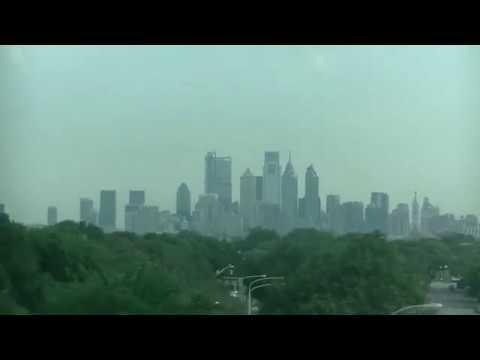 View of Philadelphia Pennsylvania Skyline