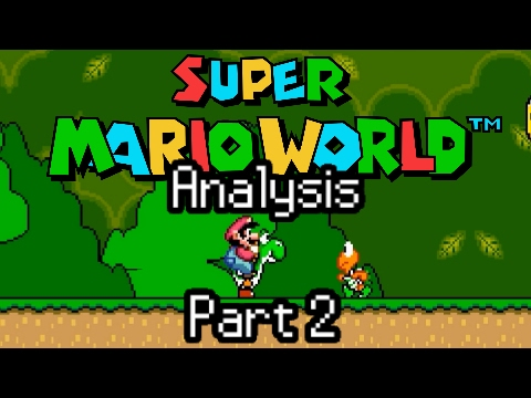 Super Mario World Analysis Part 2-  Level Design and Breakdown of the First Level