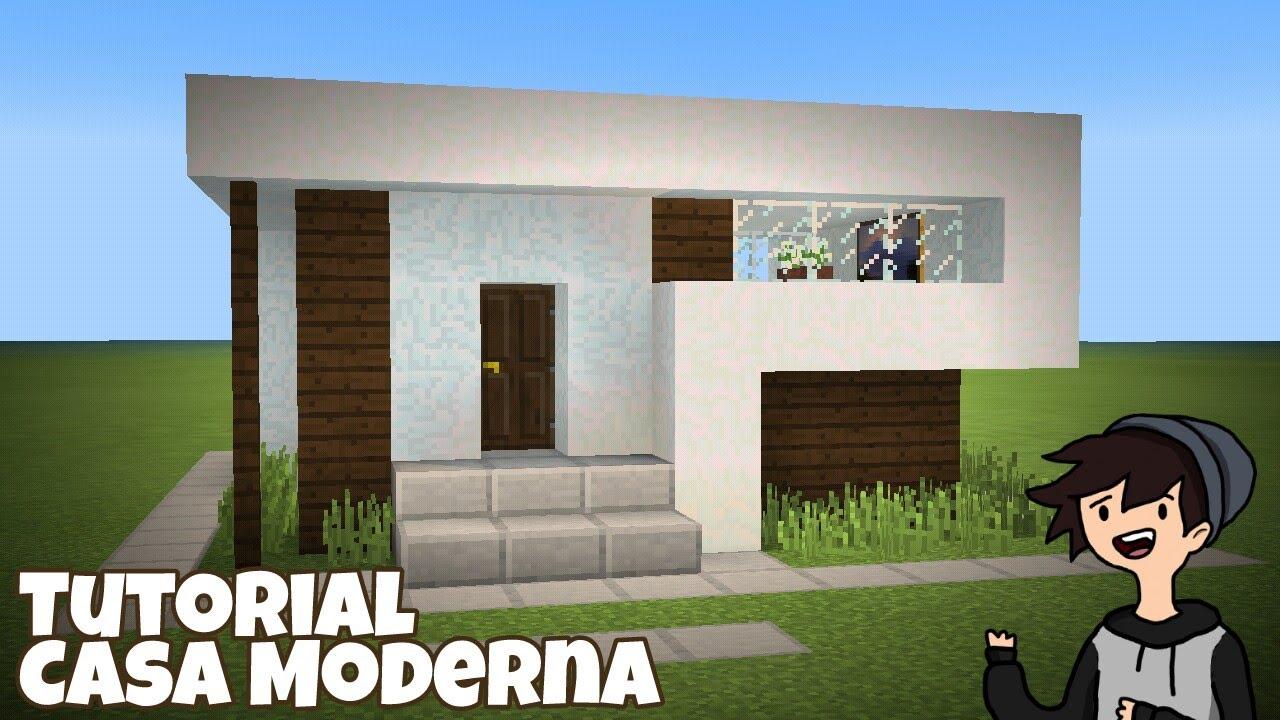 Minecraft pe como hacer una casa moderna 10x12 for Casa moderna facil minecraft tutorial