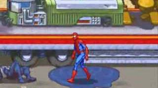 Spider-Man the video game arcade from 1991