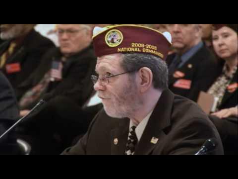 DAV Commander addresses House and Senate Veteran Affairs Committees Part 1