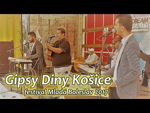 Gipsy Diny Košice |  festival Mlada Boleslav 2017