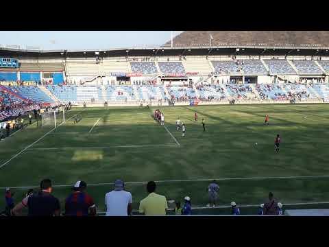 Gol del Unión Magdalena vs Barranquilla FC 18-03-2018