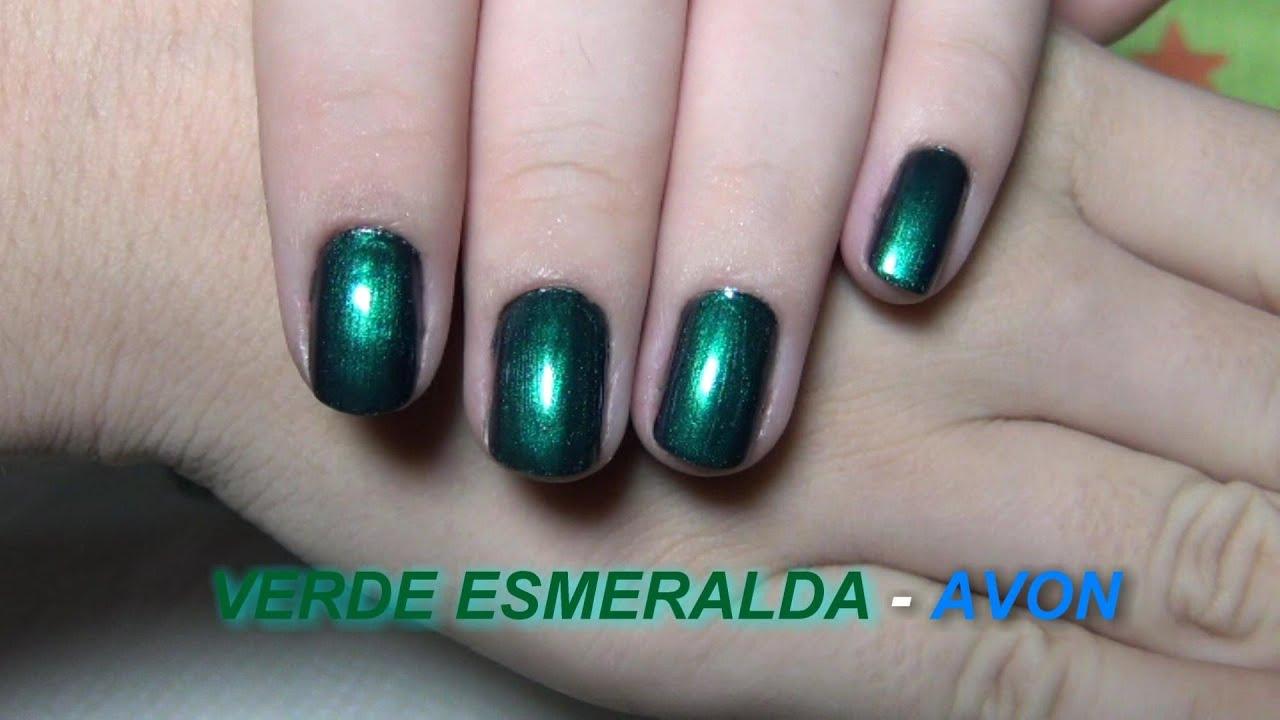 Único Esmeralda Verde Esmalte De Uñas Molde - Ideas de Diseño de ...