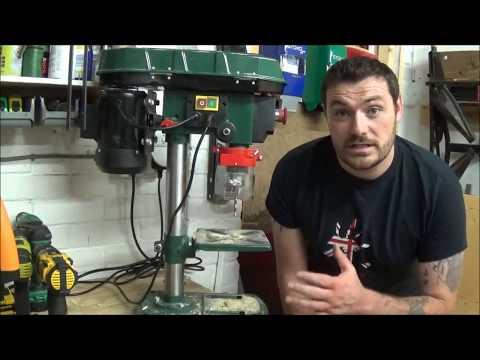 Parkside/Lidl 500w bench pillar drill review #005