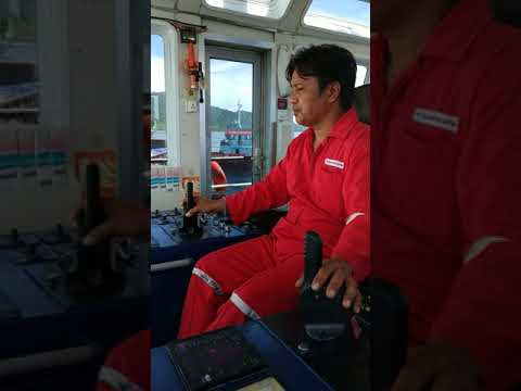 On Board in Harbour Tug ASD Sea Puli (3.200 HP, Aqua Master) Assist Tb. Harlina 167