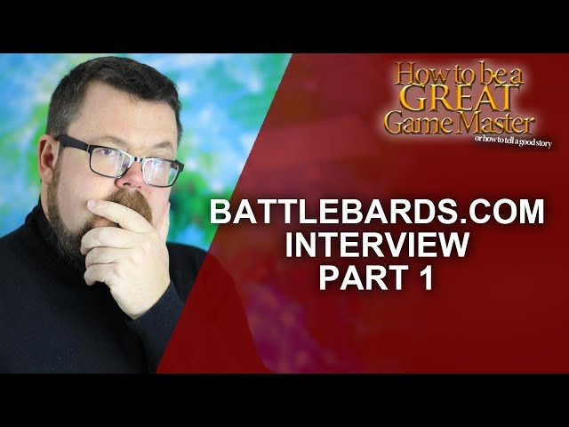 How to be A Great GM: Using Music in your Roleplaying game - Q and A with BattleBards