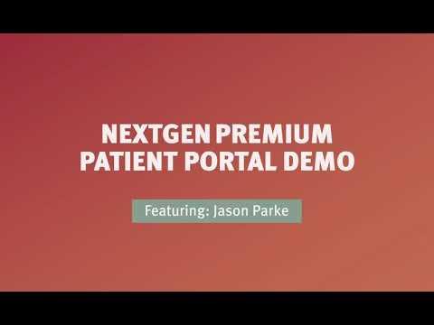 NextGen(R)  Office Premium Patient Portal