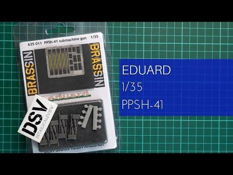 EDUARD BRASSIN 635011 PPsH-41 Submachine Gun in 1:35