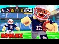 *100 POINT CHALLENGE* Roblox Football - Patriots vs Rams! (Roblox NFL 2)