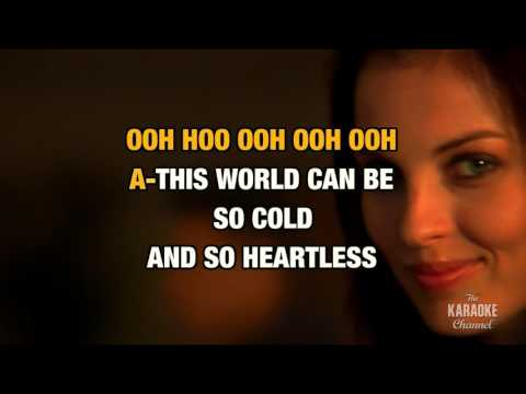 Angel On My Shoulder in the style of Natalie Cole | Karaoke with Lyrics