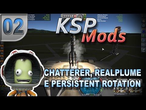 KSPMods#02 - Chatterer, RealPlume e Persistent Rotation - Pesterenan