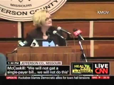 Town Hall To Claire McCaskill - We Dont Trust You