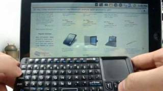 wireless rii mini keyboard with touchpad flytouch2 zt 180 epad