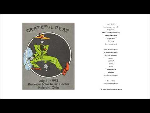 1992-07-01 - Grateful Dead Live at Buckeye Lake Music Center