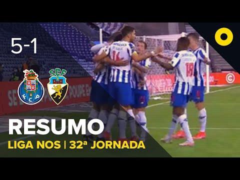 Resumo: FC Porto 5-1 SC Farense - Liga NOS | SPORT TV