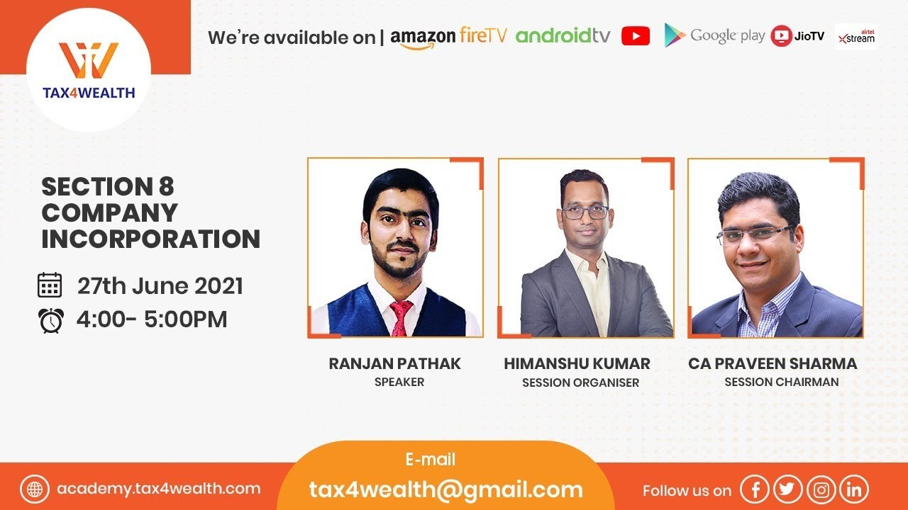 Watch our Live show on Monday at 4 PM on