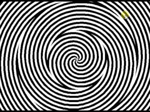 Как войти в гипноз? Гипноз. Гипнотизирование.Видео гипноз. Оптическая иллюзия, обман зрения.