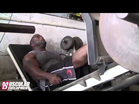 Бренч Уоррен И Джонни Джексон Тяжелая тренировка ног Обучение 2013 Мистер Олимпия
