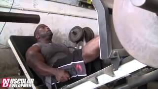видео Бренч Уоррен: тренировка ног и спины