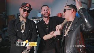 J Alvarez y Almighty hablando Backstage con Maiky MT sobre el vídeo y canción de Haters (Remix)
