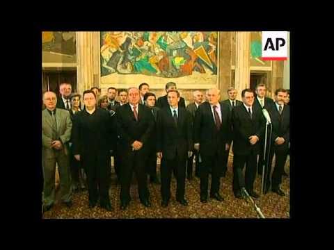 SERBIA: BELGRADE: SERB PARLIAMENT DISSOLVED