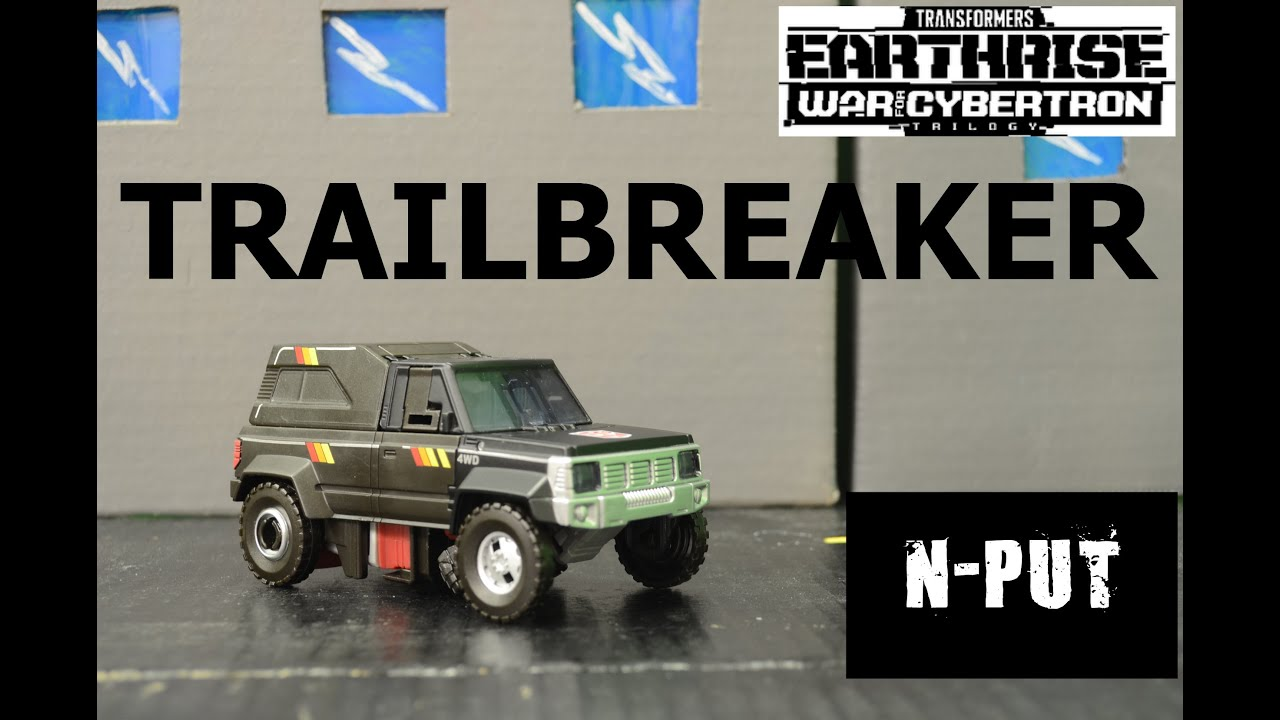 Transformers EarthRise Trailbreaker Review by N-PUT