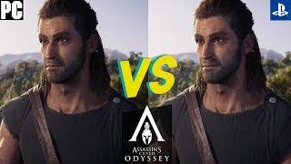 Assassin's Creed Odyssey Graphics Comparison (PC vs PS4 Pro)