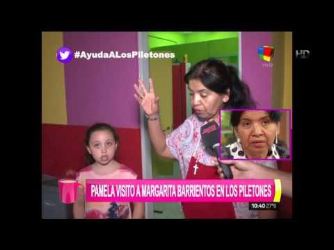 """Pamela David se metió en el corazón de """"Los Piletones"""", la obra de amor de Margarita Barrientos"""