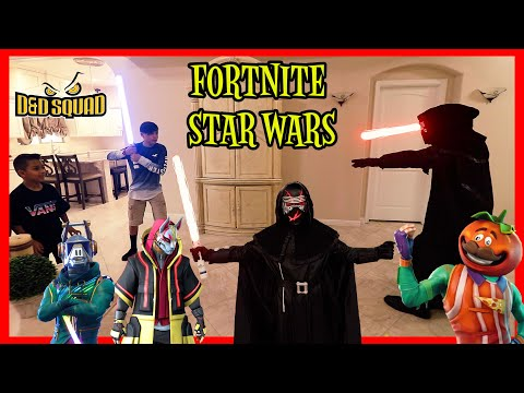 FORTNITE SKINS RETURN With KYLO REN | Fortnite Star Wars | D&D Squad Battles