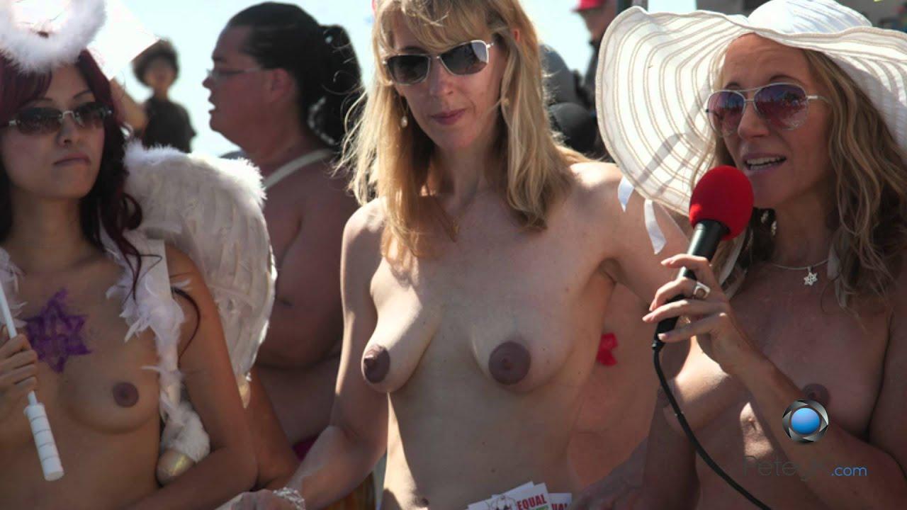 National Go Topless Day Venice Beach-9723