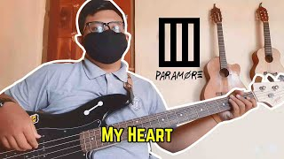 Paramore - My Heart Bass Cover