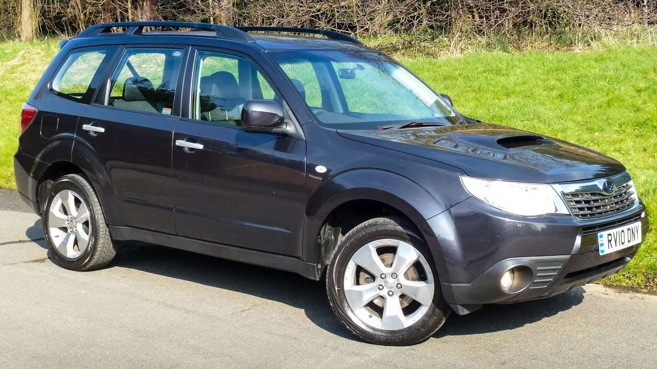 2010 subaru forester 2 0d 147 bhp boxer diesel xc estate rv10dny youtube. Black Bedroom Furniture Sets. Home Design Ideas