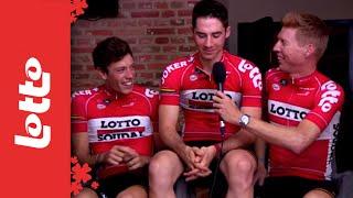 Lotto Soudal renners vertellen (2): Grappige jongens, die wielrenners!