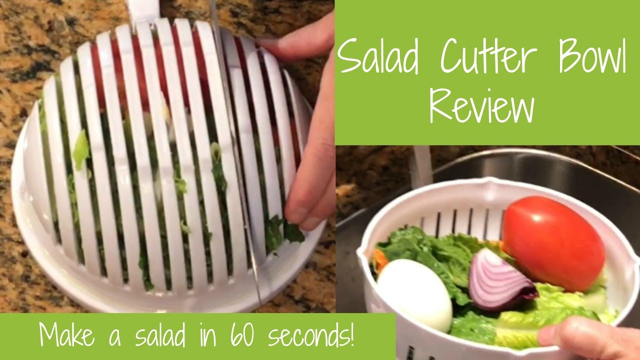 Salad Cutter Bowl Review - YouTube