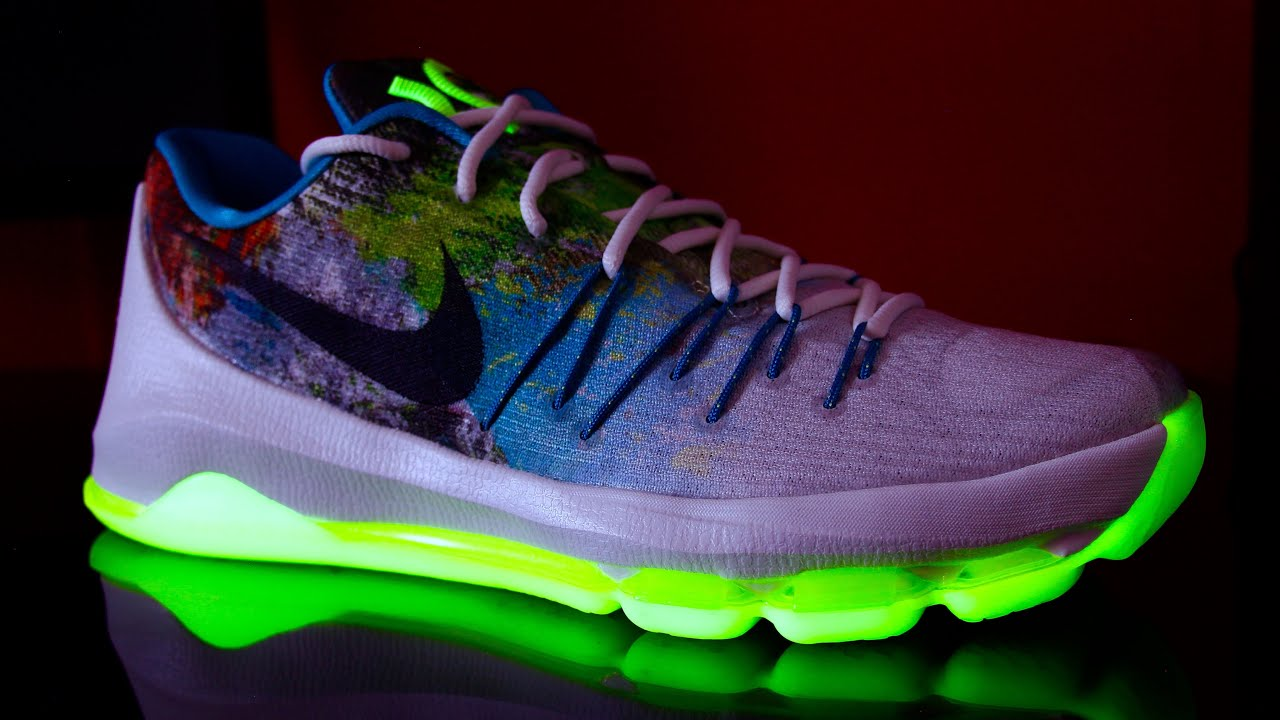 best website 75ace 75a59 Nike KD 8 N7 Unboxing and Overview! + GLOW TEST!