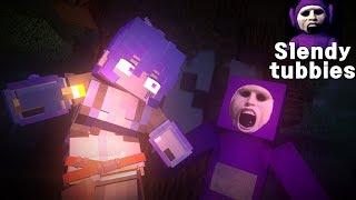 slendytubbies Horror game survival-1 - Minecraft Animation
