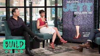Carla Gugino amp Sebastian Gutierrez Discuss Their Cinemax Series quotJettquot