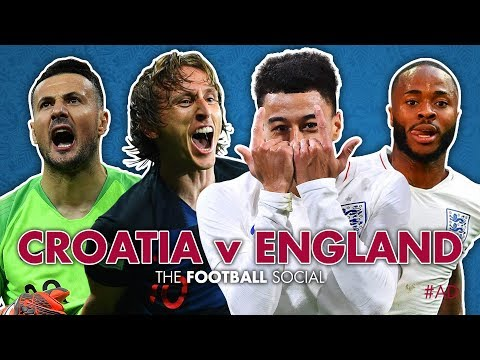 Croatia 2-1 England | England knocked OUT of the World Cup