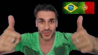 ♫ BRASIL EMPACOU, CR7 brilhou e Messi pipocou | Futparódias - REACT PORTUGA