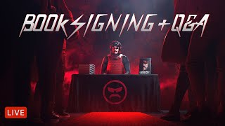 VEINY WEDNESDAY BOOK SIGNING Q&A - with DrDisrespect - !autograph
