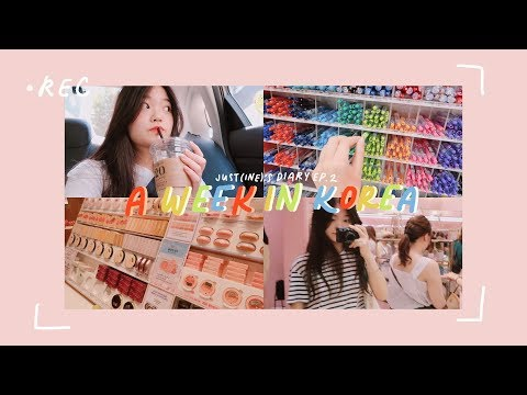 A WEEK IN KOREA 🌁 JUST(INE)'S DIARY EP.2