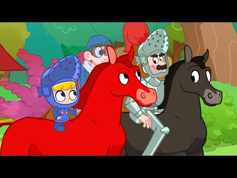 knight-time-|-my-magic-race-horse-|-kids-cartoon-|-mila-and-morphle