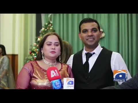 Geo News Special - Christmas Mass Held By Pakistani Christian Community In Belgium