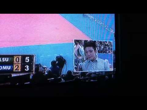 Jeron Teng interview in DLSU ADMU vball round 1
