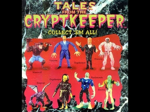 Tales From the Crypt Toys Unboxing with John Kassir